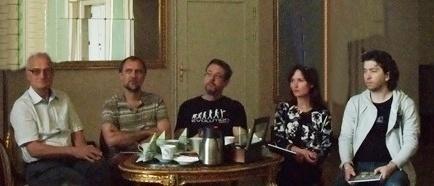 a Na konf. pras. przed premierą CYBERIADY, 21 maja 2013