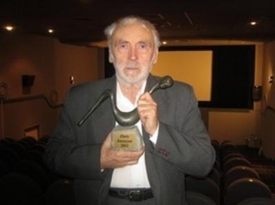 Janusz Kłośiński , laureat WYŚCIGU JASZCZURÓW 2011