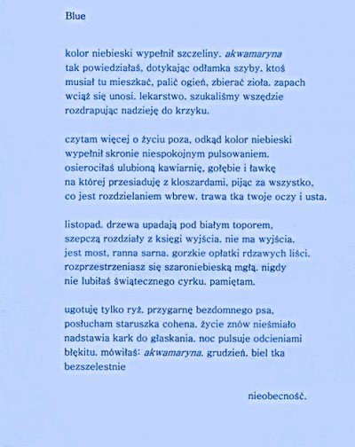 Laurowy wiersz BLUE — kopia