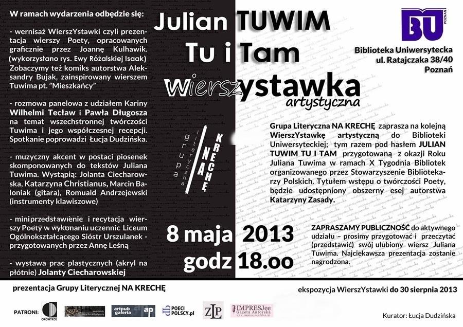 Julian Tuwim Wierszystawka,