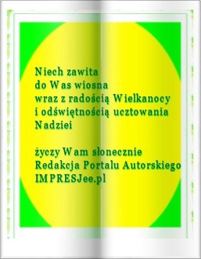 Życzenia 3 na Wielkanoc 2016, do PAI, Stefania Pruszyńska