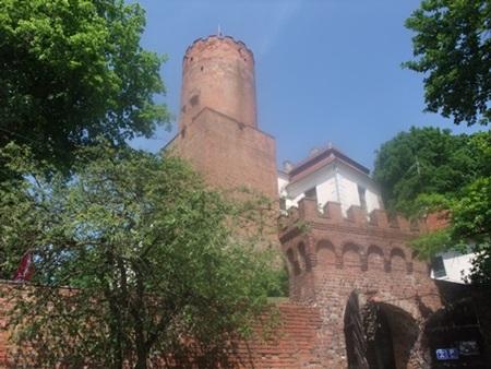 1.3. Zamek joannitów w Łagowie, fot. Stefania Pruszyńska, DSCF1656
