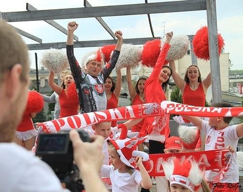 Fot 1. z nagrywania wideoklipu Gol Polska, gol, IMG_7033