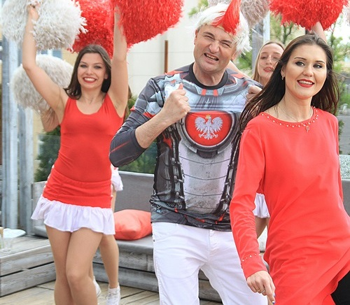 Fot. 2. z nagrywania wideoklipu Gol Polska, gol, IMG_7065